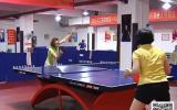泰州市乒乓球球王争霸赛在我市举行