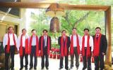 张育林出席中兵航联新三板挂牌上市仪式