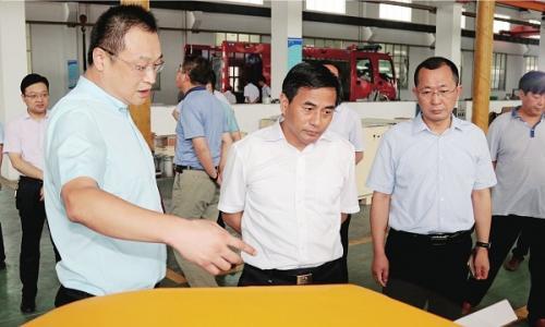市委书记张育林调研泰兴高新区