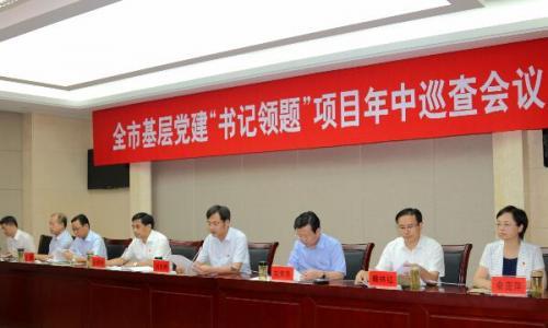 """基层党建""""书记领题""""项目年中巡查会召开"""