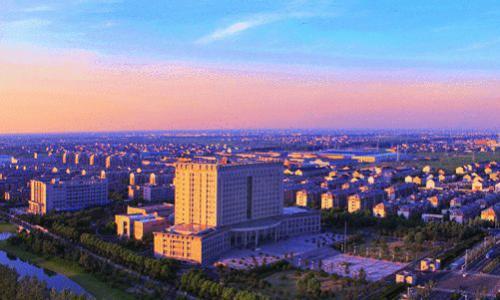 空中看泰兴之一:泰兴经济开发区(上篇)