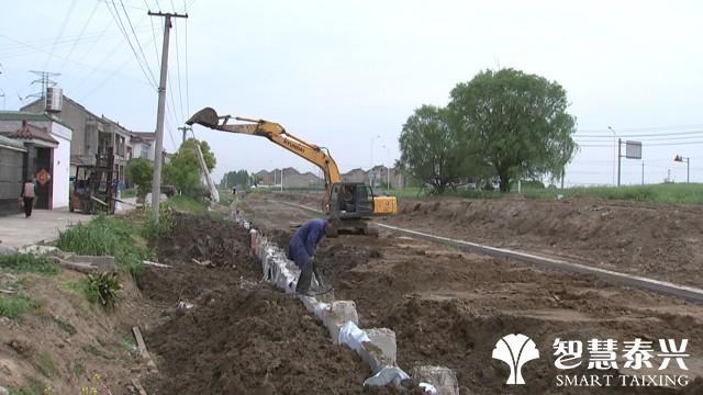 虹桥镇:整治骨干河道 营造水美环境