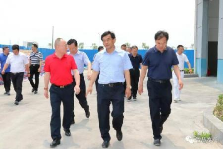 张育林刘志明调研泰州拟观摩项目推进情况