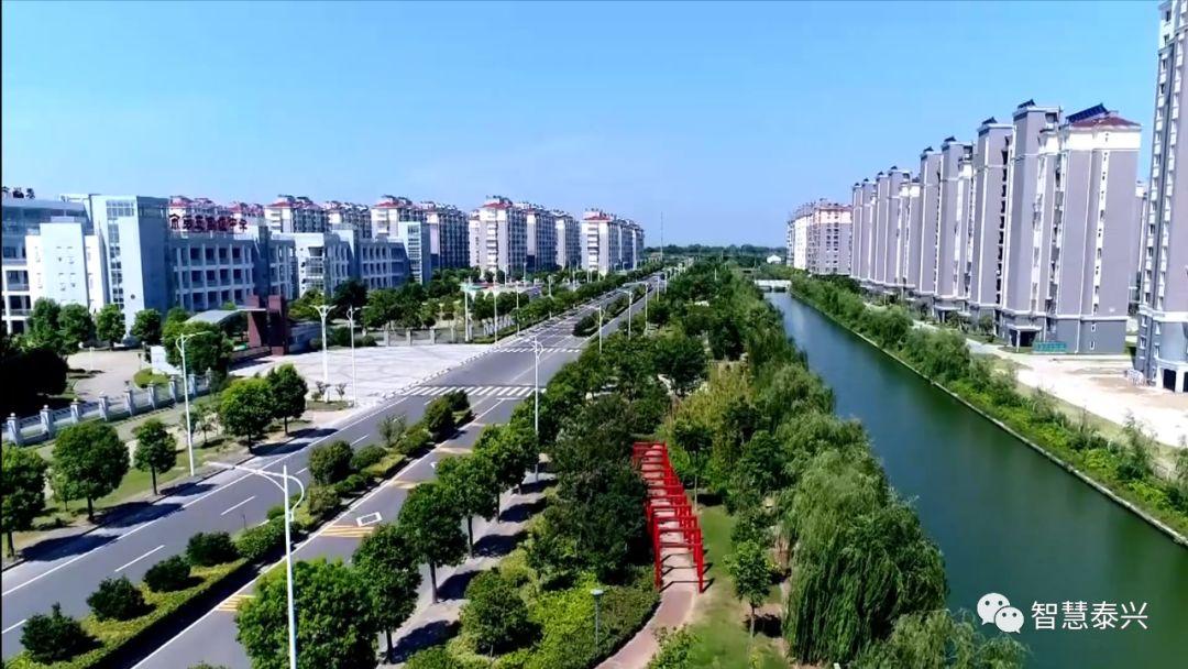 虹桥:泰兴长江边,一座魅力新城