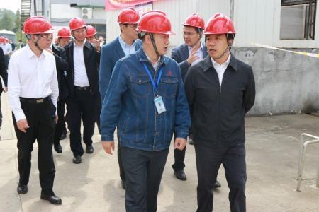 泰州市长江大保护现场推进会与会人员来我市考察