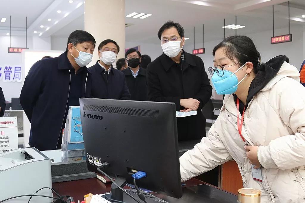 刘志明调研网格治理工作 充分发挥网格治理工作机制作用 推进疫情防控群防群治联防联治