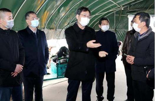 刘志明检查疫情防控和复工复业情况