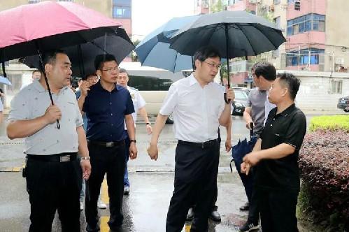 刘志明检查防汛防涝和安全生产工作
