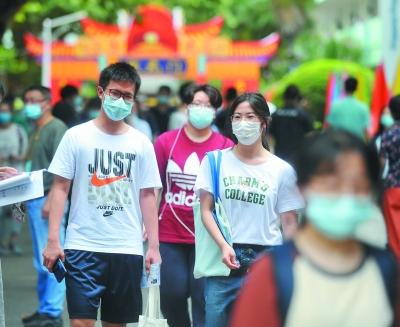 南京2.4万多考生今天高考 各考点设防疫副主考