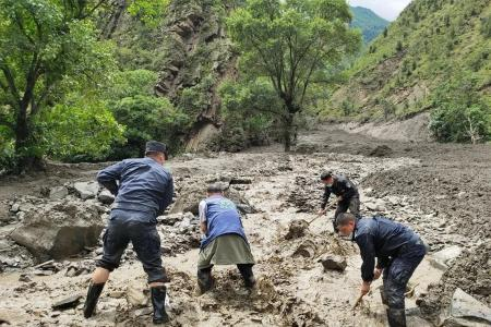 四川小金县泥石流灾害最后1名失联人员确认遇难 共造成4人死亡2人受伤