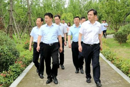 靖江市代表团来我市调研长江大保护工作