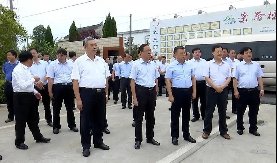 旬邑县党政代表团参观考察我市乡村振兴工作