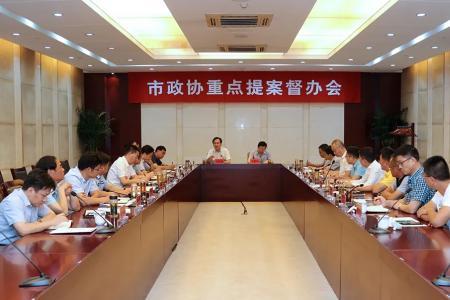 """刘志明参加市政协重点提案督办会 推进提案办理由""""答复型""""向""""落实型""""转变"""