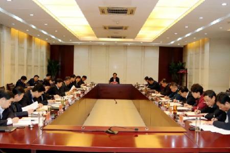 市委中心组传达学习党的十九届五中全会精神