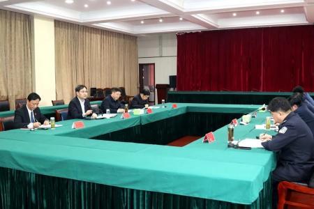 刘志明调研全市政法队伍教育整顿工作